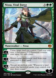 Nissa, Vital Force
